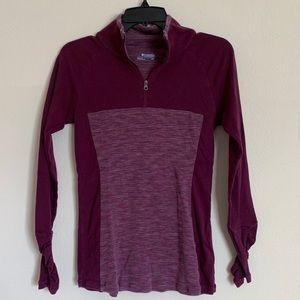 Columbia Quarter Zip Up Pullover Sz S